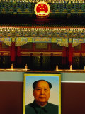 Portrait of Mao Zedong Above Gate of Heavenly Peace Bejing, China