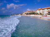 Beach Front Apartments and Hotels, Playa Del Carmen, Quitana Roo, Mexico