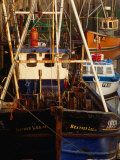 Fishing Boats in Padstow Harbour, Padstow, Cornwall, England