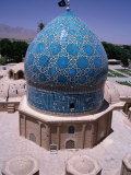 Dome of the Tomb of Shah Ne'Matollah Vali, Mahan, Iran Photographic Print