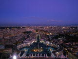 City from Dome of St. Peter's Basilica (Basilica Di San Pietro), Vatican City
