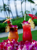 Tropical Cocktails, Poipu, USA