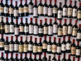 Fridge Magnet Wine Bottles., St. Emilion, Aquitaine, France