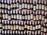 Fridge Magnet Wine Bottles., St. Emilion, Aquitaine, France