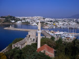 Marina from the Castle of St. Peter, Overlooking Salmakis Bay, Bodrum, Turkey Photographic Print