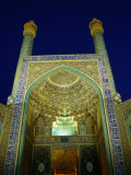 Eman Mosque at Night, Esfahan, Iran