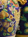 Close-up of Local Ceramic Pots, Positano, Amalfi, Campania, Italy
