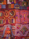 Native Indian Artwork, Mola, Panama