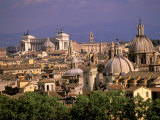 Buy City View and Monumento Vittorio Emanuele Il, The Vatican, Rome, Italy at AllPosters.com