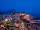 Buy Evening View from the Grand Hotel, Ortygia Island, Syracuse, Sicily, Italy at AllPosters.com