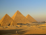 Giza Pyramid, Giza Plateau, Old Kingdom, Egypt Photographic Print
