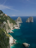 Faraglioni Rocks, Capri, Bay of Naples, Campania, Italy