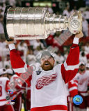 Kris Draper with the Stanley Cup, Game 6 of the 2008 NHL Stanley Cup Finalsl; #33