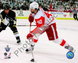 Henrik Zetterberg, Game 4 Action of the 2008 NHL Stanley Cup Finals