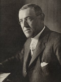 Woodrow Wilson American President and Nobel Prizewinner in 1919