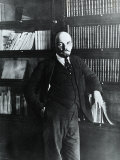 Portrait of Lenin in His Study