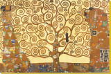 The Tree of Life, Stoclet Frieze, c.1909 Stretched Canvas Print