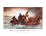 Washington Crossing the Delaware, c.1851 Art Print