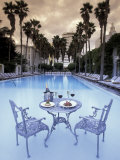 Delano Hotel Pool, South Beach, Miami, Florida, USA