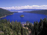 Emerald Bay, Lake Tahoe, California, USA,