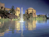 Palace of Fine Arts, Presidio, San Francisco, California, USA