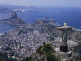 Christ the Redeemer Statue Rio de Janeiro, Brazil Photographic Print