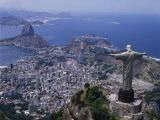 Christ the Redeemer Statue Rio de Janeiro, Brazil Photographic Print