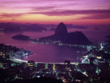 Sugar Loaf Mountain, Guanabara Bay, Rio de Janeiro, Brazil