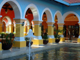 Lobby of Iberostar Resort, Mayan Riviera, Mexico