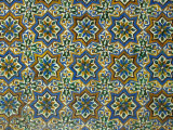 Moorish Mosaic Azulejos (ceramic tiles), Casa de Pilatos Palace, Sevilla, Spain