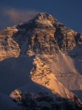 Mt. Everest at Sunset From Rongbuk, Tibet