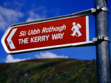 Kerry Way Signpost, Waterville, Ireland