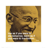Buy Gandhi: Live and Learn at AllPosters.com