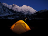 First Light on Mt. Everest From the Kangshung, Tibet Photographic Print