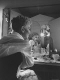Actress Mary Martin Putting on Her Makeup