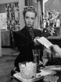 Actress Audrey Totter in Scene from Film