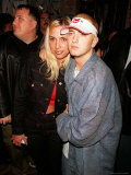 Rapper Eminem and Wife Kim at His Record Release Party