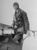 Charles Lindbergh Make His Departure Back to Paris Following His Flight to Croydon Airport