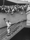 Fans Welcoming Giants Star Willie Mays at Polo Grounds