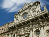 Buy Baroque Architecture, 17th Century Santa Croce Church, Lecce, Puglia, Italy at AllPosters.com