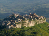 Buy Morning View of Hill Town, Calascibetta, Enna, Sicily, Italy at AllPosters.com