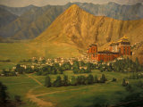 Wall Mural of Tashilumpo, Tibet