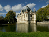 Chateau of Azay-le-Rideau, Loire Valley, France
