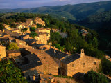 Mountain Top Village of Menerbes, Luberon, France