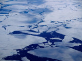 Artic Ice Floes, Nunavut, Canada
