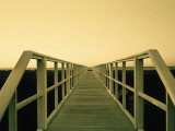 Bridge at Long Island Beach, NY