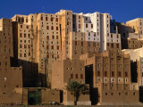 Exterior of Apartment Buildings, Yemen