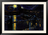 Starry Night over the Brooklyn Bridge