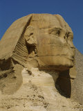 View of the Head of the Great Sphinx at Giza