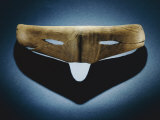 Wooden Inupiat Snow Goggles Retrieved from the Utqiagvik Archeological Site